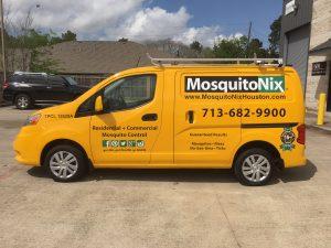 Custom Van Wrap MosquitoNix