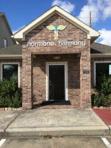 Hormone Harmony Custom Storefront Sign