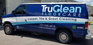 Cinco Ranch Vinyl Printing Vehicle Wrap Tru Clean 300x146