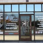 Cinco Ranch Window Graphics Copy of Chiropractic Office Window Decals 150x150